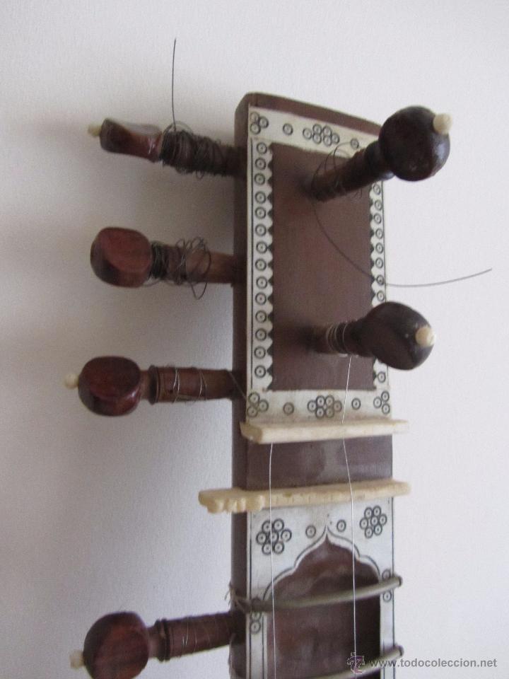 Instrumentos musicales: Sitar Antiguo de 12 Cuerdas - Foto 9 - 144015893