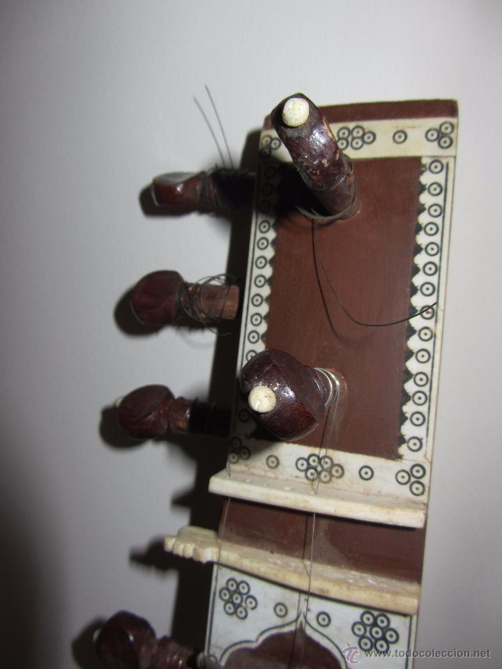Instrumentos musicales: Sitar Antiguo de 12 Cuerdas - Foto 10 - 144015893