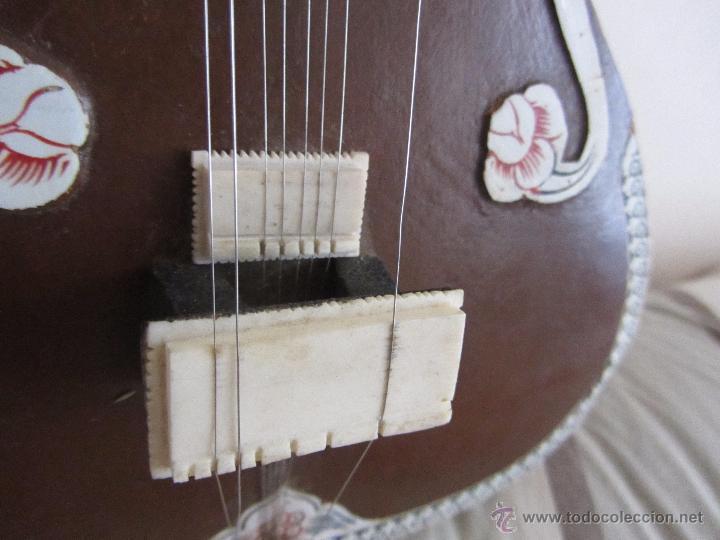 Instrumentos musicales: Sitar Antiguo de 12 Cuerdas - Foto 11 - 144015893