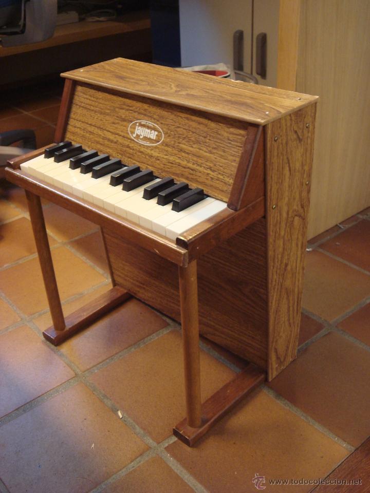 ANTIGUO MINI PIANO JAYMAR (Música - Instrumentos Musicales - Pianos Antiguos)