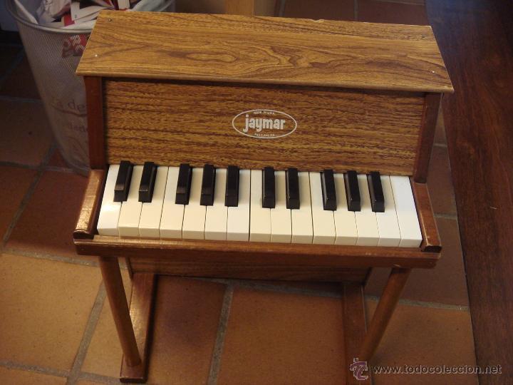 Instrumentos musicales: ANTIGUO MINI PIANO JAYMAR - Foto 3 - 50477881