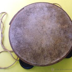 Instrumentos musicales: PANDERETA. (15 CM DE DIÁMETRO). Lote 50558296