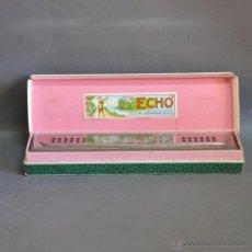 Instrumentos musicales: ANTIGUA ARMONICA HOHNER ECHO HARP EN SU CAJA ORIGINAL. ALEMANIA 1950 - 1955. Lote 50664403