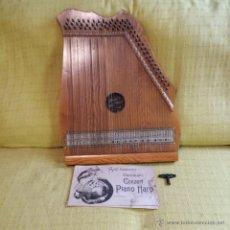 Instrumentos musicales: GRAN ARPA-PIANO DEL SIGLO XIX FABRICADA EN ALEMANIA, MANDOLINA, CITARA, SALTEIRO, CETRA * PERFECTA *. Lote 50934614