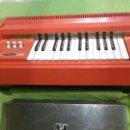 Instrumentos musicales: ÓRGANO ELÉCTRICO VINTAGE MAGNUS MAJOR ROJO - ORIGINAL AÑO 1969 - FABRICADO EN BÉLGICA-FUNCIONA. Lote 50737736