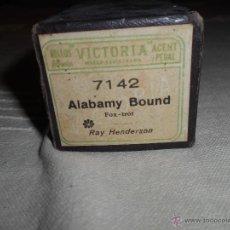 Instrumentos musicales: ROLLO DE PIANOLA VICTORIA. 7142, ALABAMY BOUND, FOX-TROT, RAY HENDERSON.. Lote 50773127