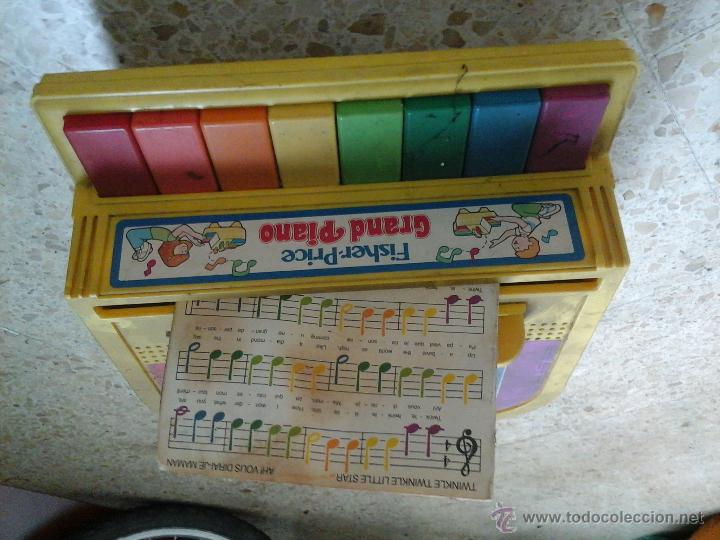 PIANO FISCHER PRICE (Música - Instrumentos Musicales - Pianos Antiguos)