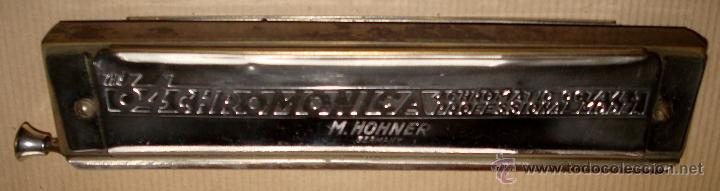 ARMÓNICA HOHNER Nº 280 MADE IN GERMANY (Música - Instrumentos Musicales - Viento Metal)