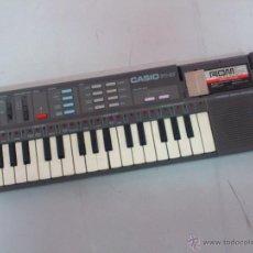 Instrumentos musicales: AFJ. ORGANO TECLADO PIANO - CASIO PT-87 JAPAN + CASIO ROM PACK - FUNCIONANDO. Lote 50953102