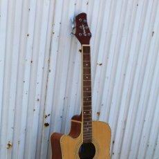 Instrumentos musicales: GUITARRA ELECTROACUSTICA GUVNOR GAS 500 CEL. Lote 51636995