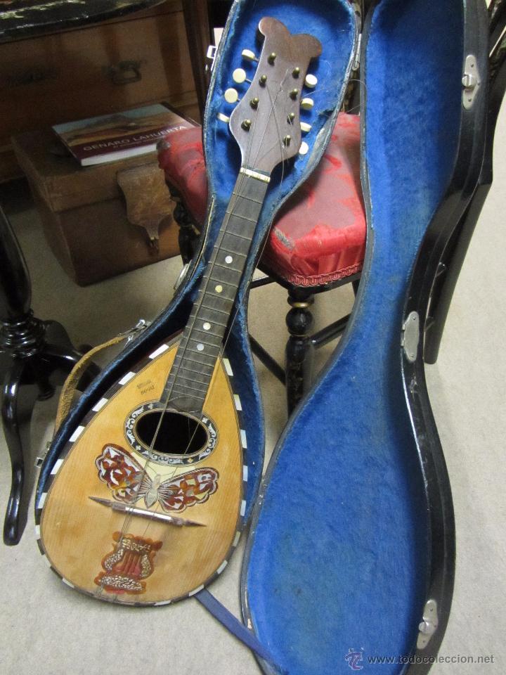 ANTIGUA MANDOLINA GENNARO SORIANI - NAPOLI (Música - Instrumentos Musicales - Cuerda Antiguos)