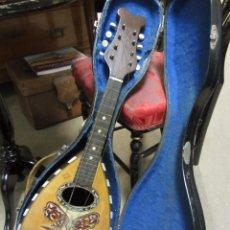 Instrumentos musicales: ANTIGUA MANDOLINA GENNARO SORIANI - NAPOLI. Lote 51939645