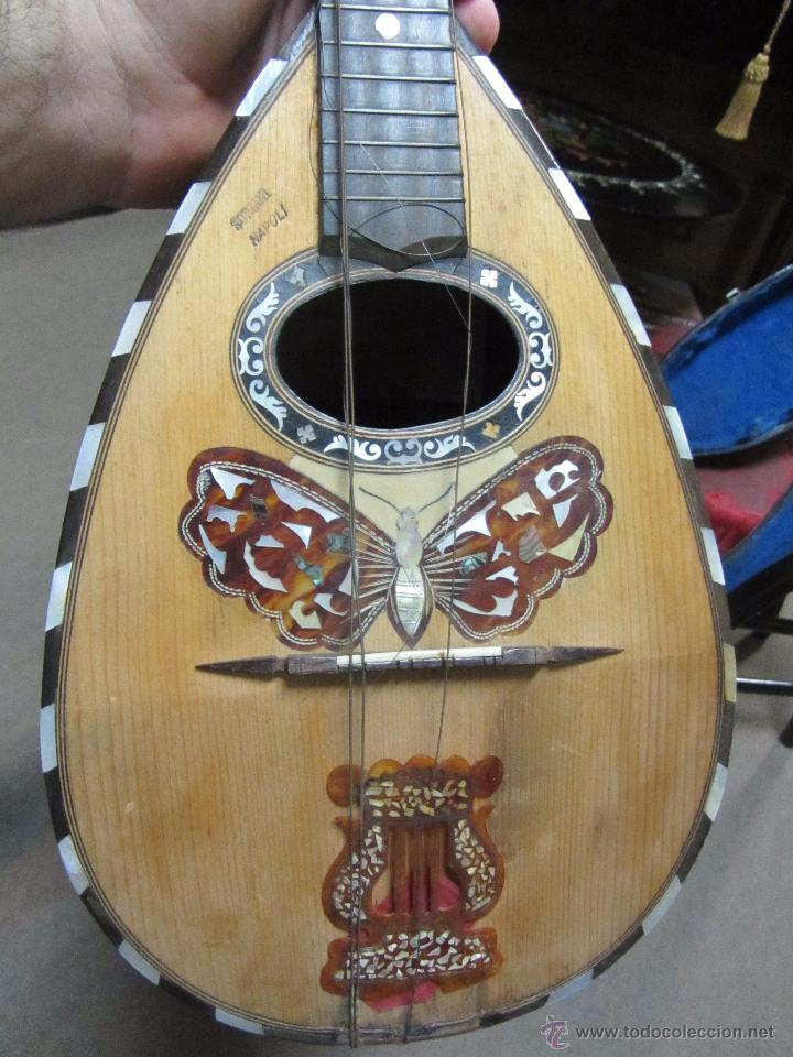 Instrumentos musicales: Antigua Mandolina Gennaro Soriani - Napoli - Foto 3 - 51939645