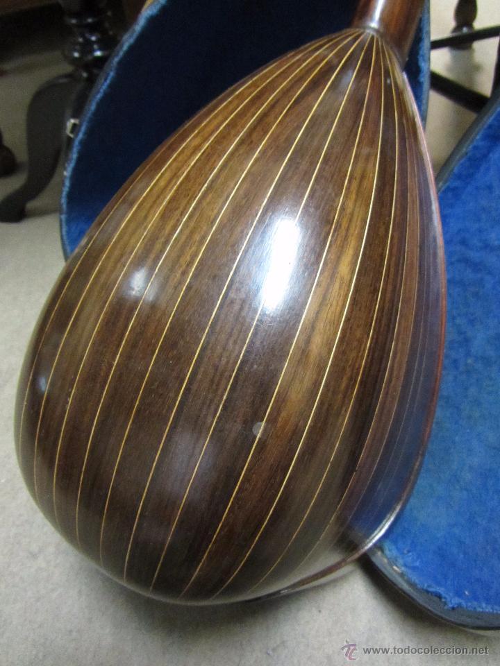 Instrumentos musicales: Antigua Mandolina Gennaro Soriani - Napoli - Foto 7 - 51939645