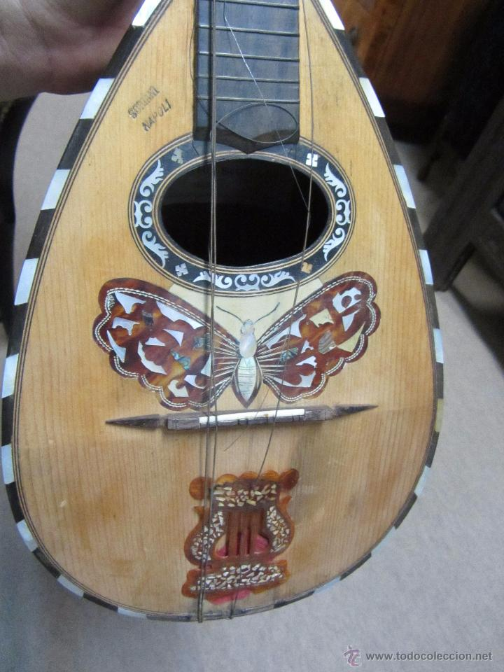 Instrumentos musicales: Antigua Mandolina Gennaro Soriani - Napoli - Foto 8 - 51939645
