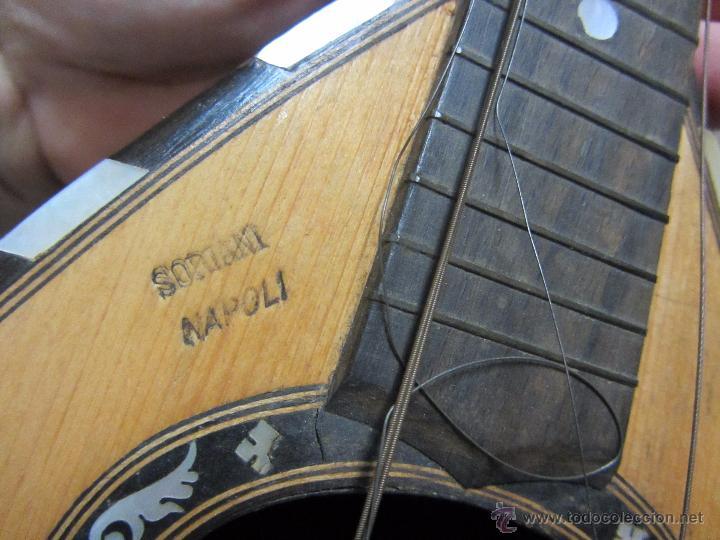 Instrumentos musicales: Antigua Mandolina Gennaro Soriani - Napoli - Foto 12 - 51939645