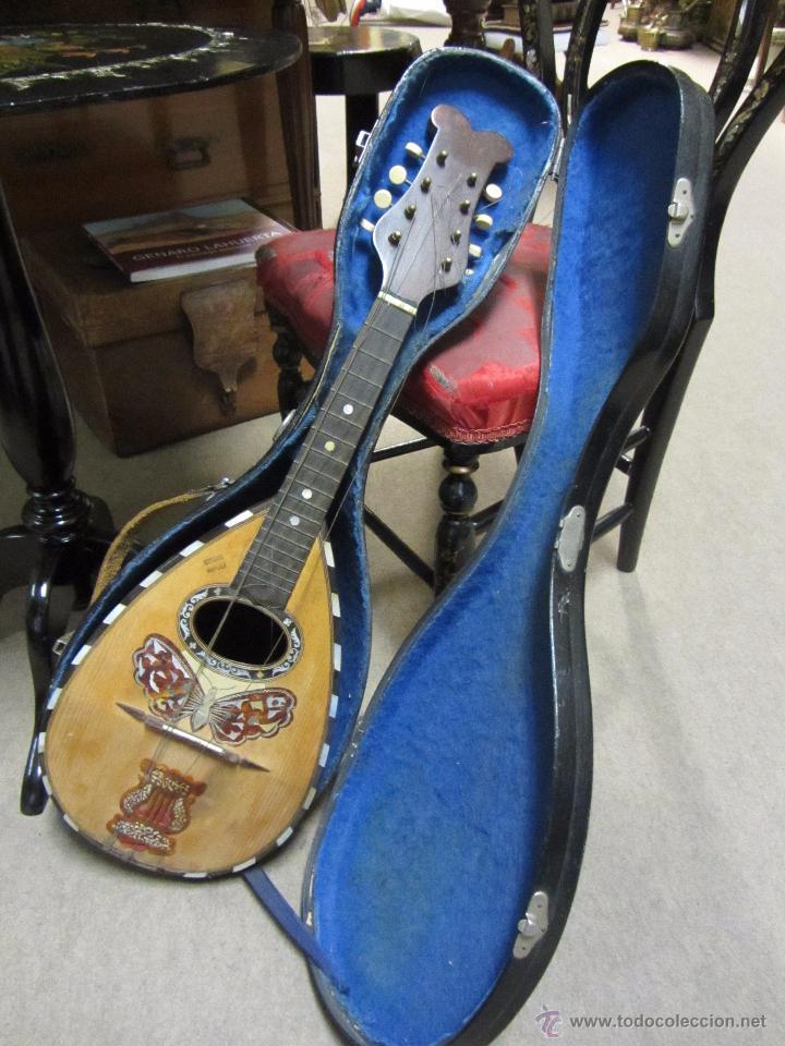 Instrumentos musicales: Antigua Mandolina Gennaro Soriani - Napoli - Foto 13 - 51939645
