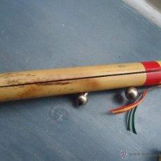 Instrumentos musicales: INSTRUMENTO MUSICAL MADERA , DE CORO O TUNA O SIMILAR - CAÑA CASCABELES. Lote 52137202
