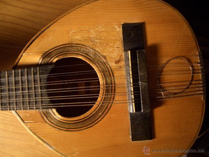 Instrumentos musicales: Bandurria Antigua años 50 - 60 - Foto 3 - 52464636