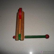 Instrumentos musicales: CARRACA DE MADERA. Lote 52517608