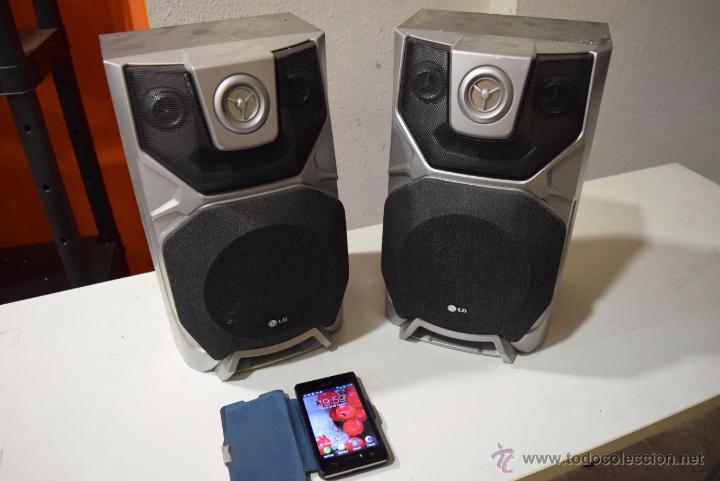 Instrumentos musicales: Dos altavoces para equipo compacto o normal 25 wats.LG. - Foto 3 - 52626498