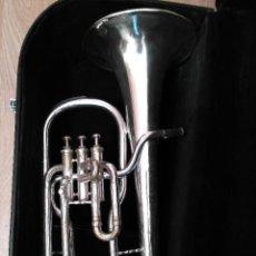 Instrumentos musicales: TROMPA CONTRALTO MIB HIGHAM SIGLO XIX. Lote 126697186