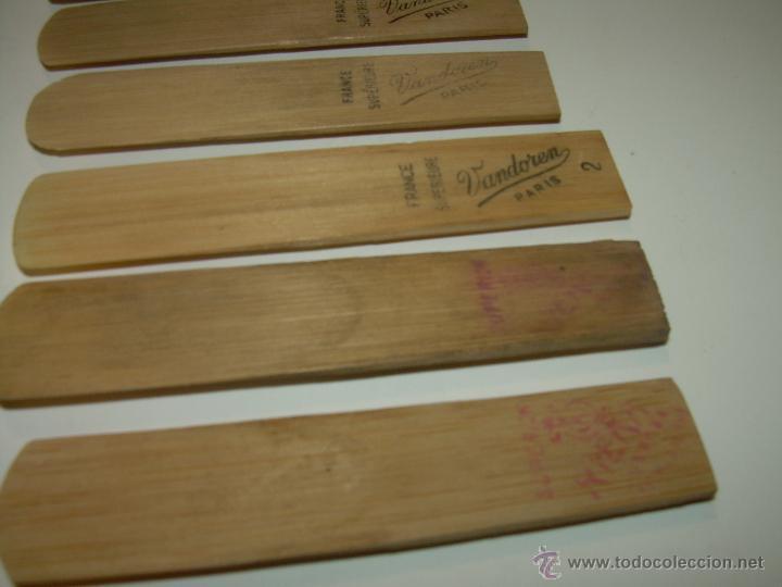 Instrumentos musicales: ANTIGUAS BOQUILLAS DE CAÑA PARA SAXOFON....NUEVAS SIN HABER SIDO USADAS...SIGLO XIX. PRINCIPIOS XX. - Foto 3 - 52915503