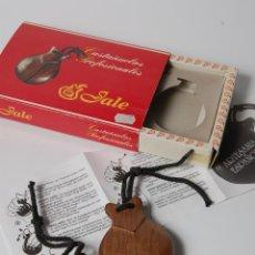 Instrumentos musicales: CASTAÑUELAS PROFESIONALES MADERA PALO SANTO INDIA, Nº 6, JALE, ESPAÑA. Lote 181597808