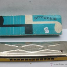 Instrumentos musicales: PERLA - ANTIGUA ARMÓNICA. Lote 53351308