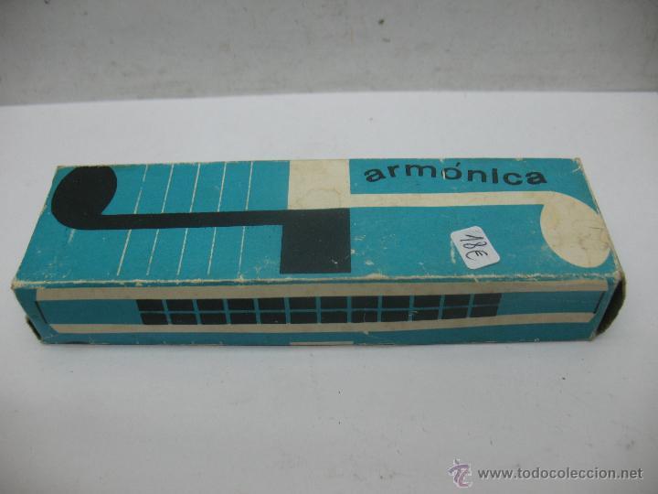 Instrumentos musicales: PERLA - Antigua armónica - Foto 5 - 53351308