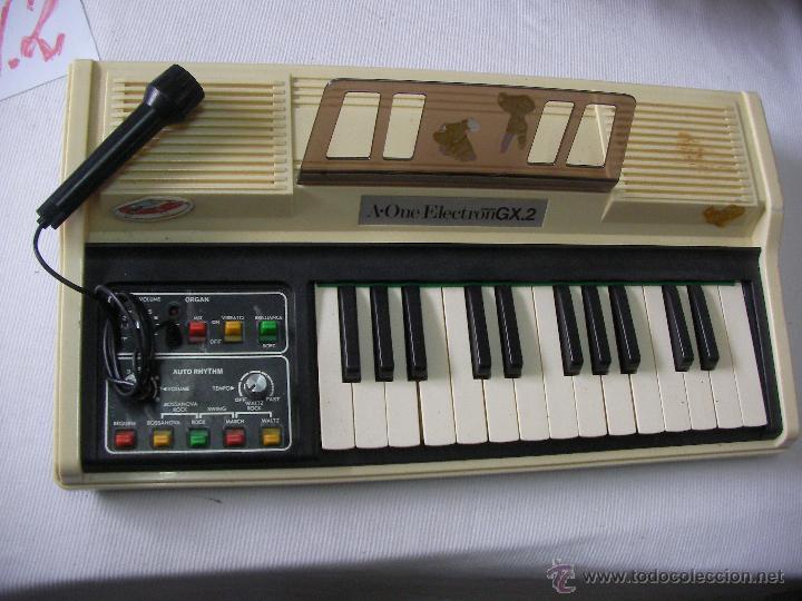 ANTIGUO Y RARO ORGANO A-ONE ELECTRON GX.2 (Música - Instrumentos Musicales - Pianos Antiguos)