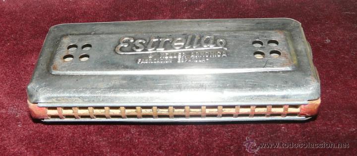 ARMONICA KELLER ESTRELLA FABRICACION ESPAÑOLA (Música - Instrumentos Musicales - Viento Metal)