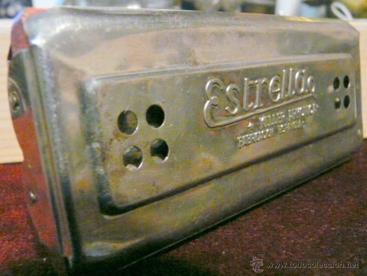 Instrumentos musicales: ARMONICA KELLER ESTRELLA FABRICACION ESPAÑOLA - Foto 2 - 53599826