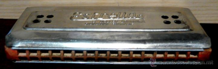 Instrumentos musicales: ARMONICA KELLER ESTRELLA FABRICACION ESPAÑOLA - Foto 4 - 53599826