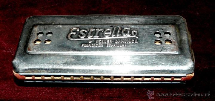 Instrumentos musicales: ARMONICA KELLER ESTRELLA FABRICACION ESPAÑOLA - Foto 6 - 53599826