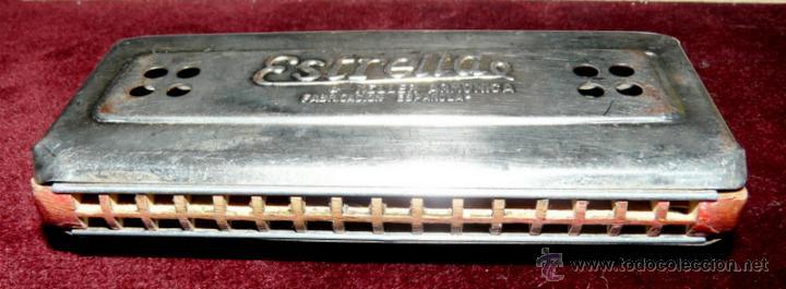 Instrumentos musicales: ARMONICA KELLER ESTRELLA FABRICACION ESPAÑOLA - Foto 7 - 53599826