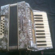 Instrumentos musicales: ACORDEON ALEMAN WELTMEISTE POST LABOREM. Lote 53716740