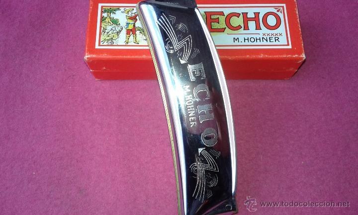 Instrumentos musicales: Hohner Armónica Echo 32 agujeros Harmonica 1930 C Box original Alemania Excelentes Condiciones - Foto 2 - 53841354