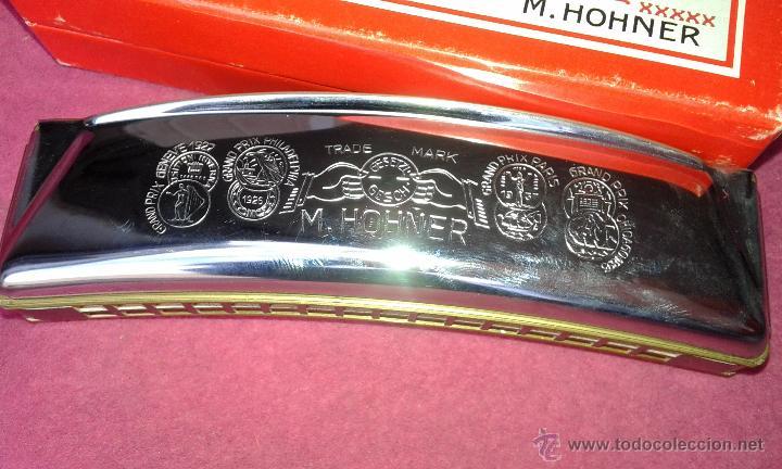 Instrumentos musicales: Hohner Armónica Echo 32 agujeros Harmonica 1930 C Box original Alemania Excelentes Condiciones - Foto 4 - 53841354