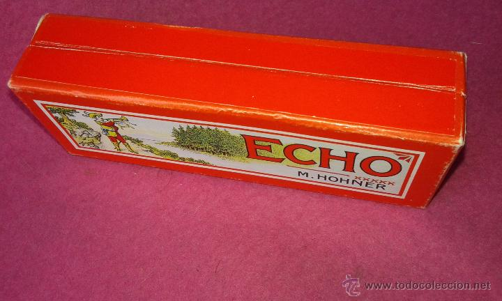 Instrumentos musicales: Hohner Armónica Echo 32 agujeros Harmonica 1930 C Box original Alemania Excelentes Condiciones - Foto 6 - 53841354