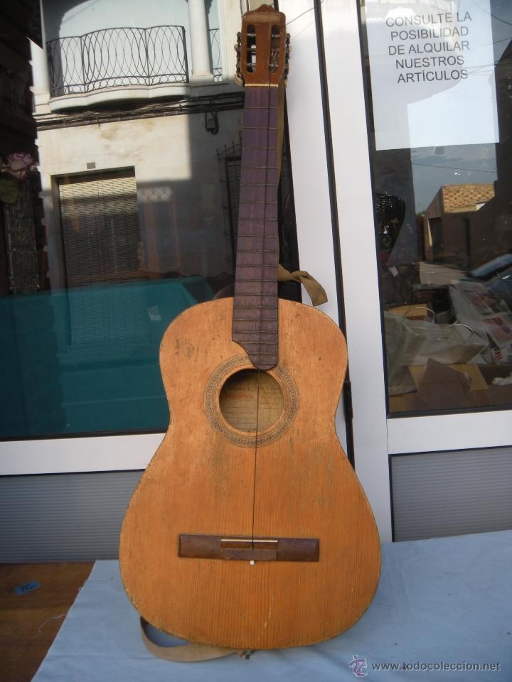 GUITARRA SAGRISTA´S BARCELONA (Música - Instrumentos Musicales - Cuerda Antiguos)