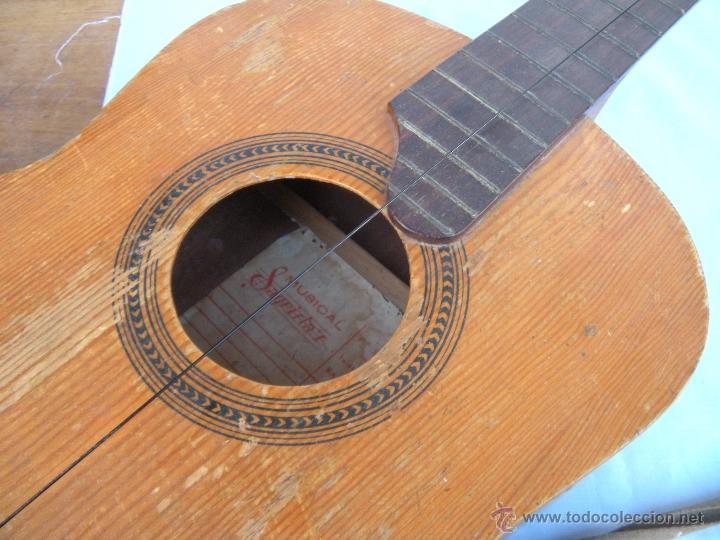 Instrumentos musicales: GUITARRA SAGRISTA´S BARCELONA - Foto 10 - 53850639