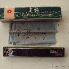 Instrumentos musicales: BONITA ARMONICA, HARMONICA BLESING, MADE IN CHINA, AÑOS 80.. Lote 53956162