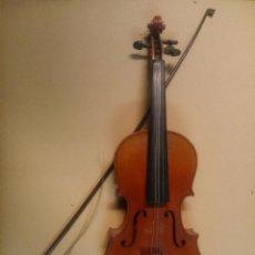 Instrumentos musicales: VIOLÍN CON ETIQUETA COPY OF ANTONIUS STRADIVARIUS. Lote 54371663
