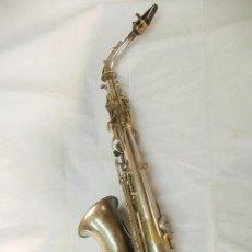 Instrumentos musicales: SAXO.. Lote 54555175