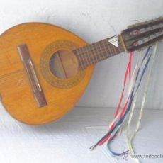 Instrumentos musicales: GUITARRA BANDURRIA FABRICA DE GUITARRAS ARTESANÍA DE JOSÉ FERNÁNDEZ GINER VALENCIA. Lote 54594624