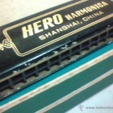 Instrumentos musicales: HARMÓNICA HERO AÑOS 80 CON CAJA ORIGINAL / INSTRUMENTOS MUSICALES /. Lote 54713284