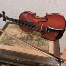 Instrumentos musicales: VIOLIN FRANCES M.COUTURIEUX (MIRECOURT 1900). Lote 54836917
