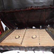 Instrumentos musicales: ZITARA SIGLO XIX CON PIEZAS EN MARFIL. Lote 54874353
