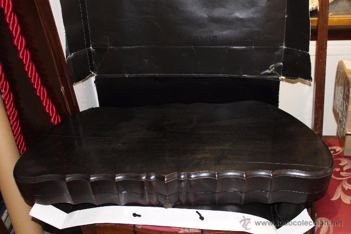 Instrumentos musicales: zitara siglo XIX con piezas en marfil - Foto 12 - 54874353